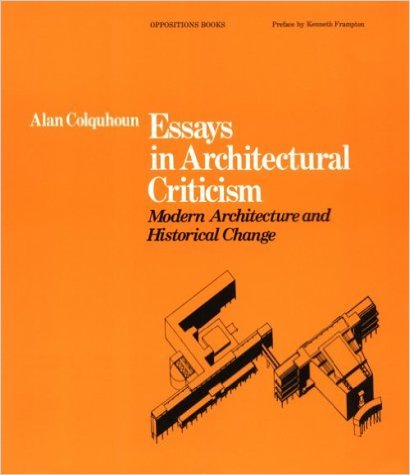 architecture essay modern other
