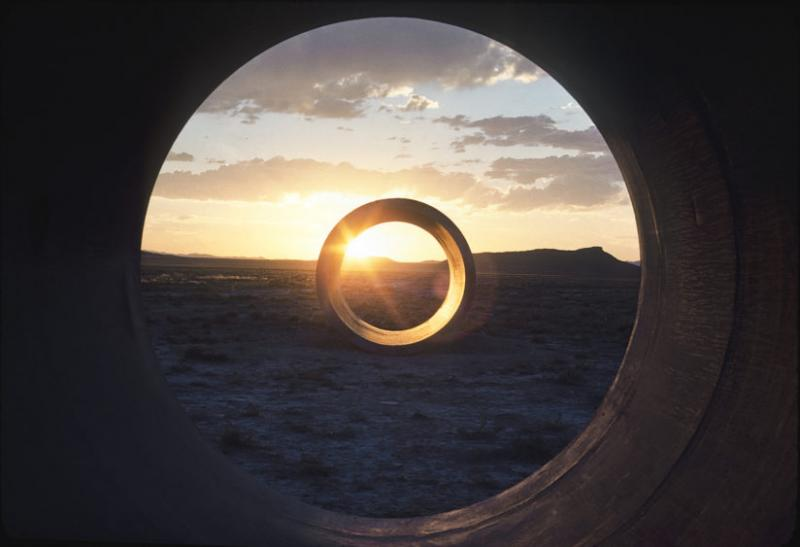 Sun Tunnels, Great Basin Desert, Utah (1973-1976)
